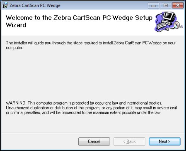 CartScan Setup - Zebra Technologies TechDocs