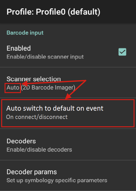 Barcode Input - Zebra Technologies TechDocs