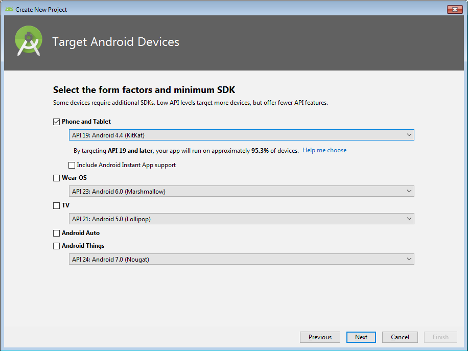 Creating Project using Android Studio - Zebra Technologies Techdocs