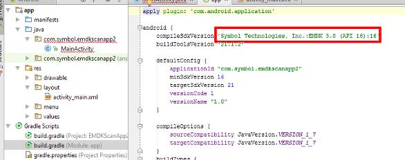 EMDK For Android Setup (Android Studio1 0 x) - Zebra