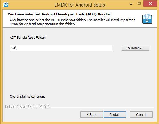 android sdk root folder