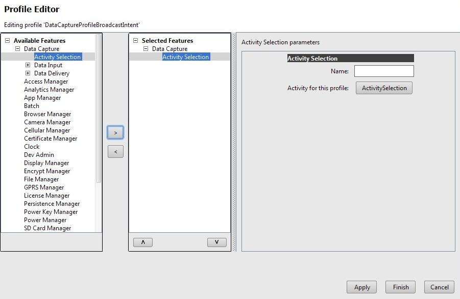 Using Broadcast Intent in DataCapture Profiles - Zebra Technologies