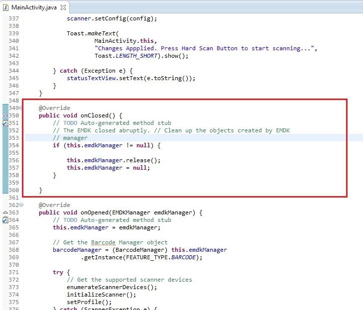 Advanced Scanning Tutorial using Barcode API - Zebra Technologies