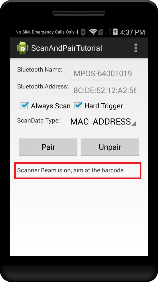 Pairing Bluetooth devices with ScanAndPair APIs - Zebra Technologies