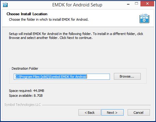 emdk for android setup android studio zebra technologies techdocs