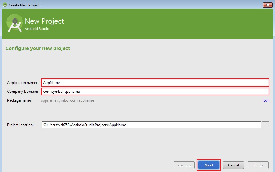 Where To Find Android Package Name In Android Studio