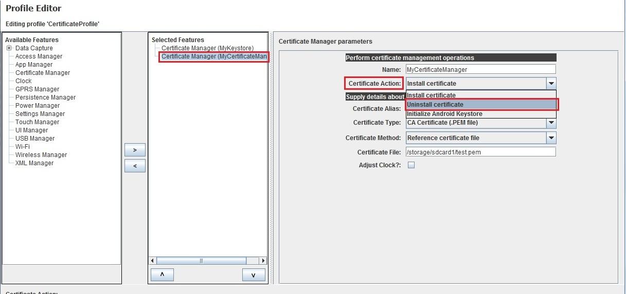 Install ca certificate using certificate manager zebra img yelopaper Gallery