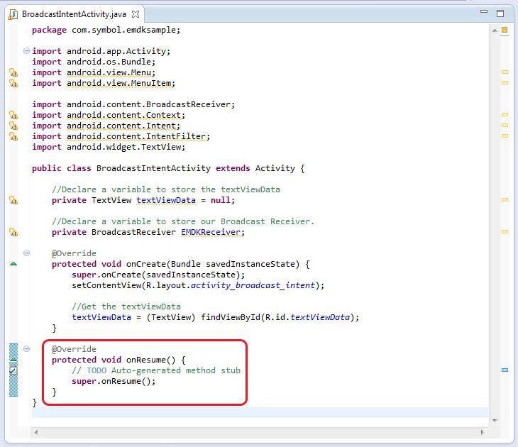 Using Broadcast Intent in DataCapture Profiles - Zebra