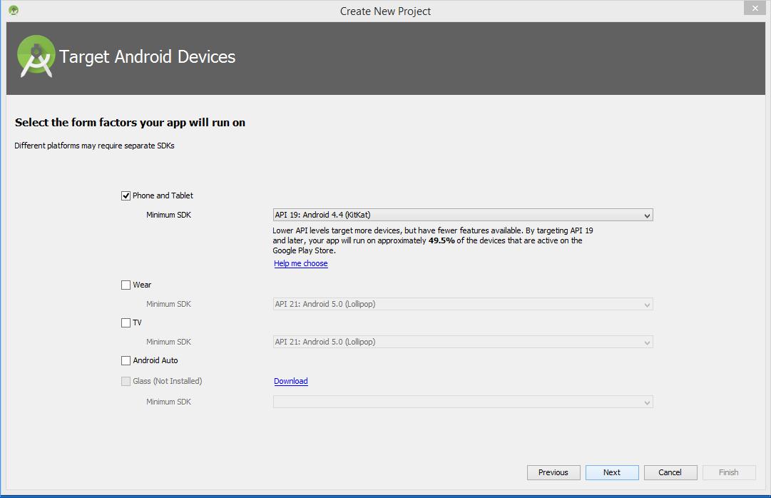 Create an Android Studio Project - Zebra Technologies Techdocs