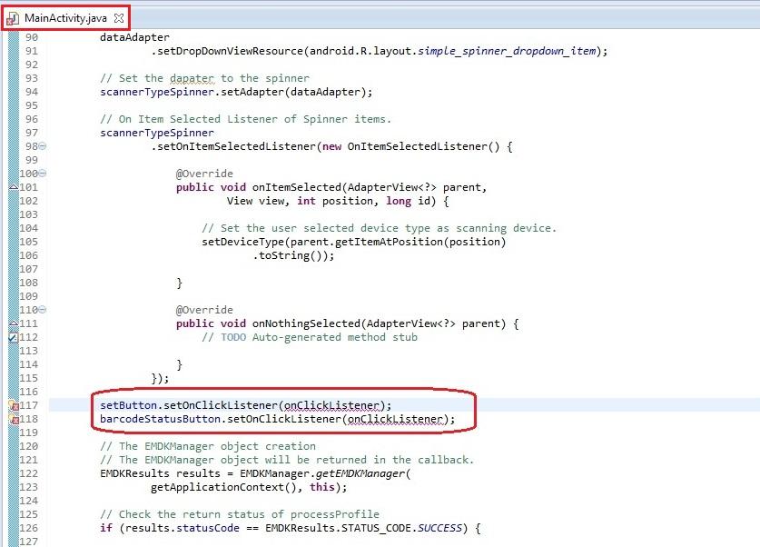 Modifying Profiles With ProfileConfig API - Zebra