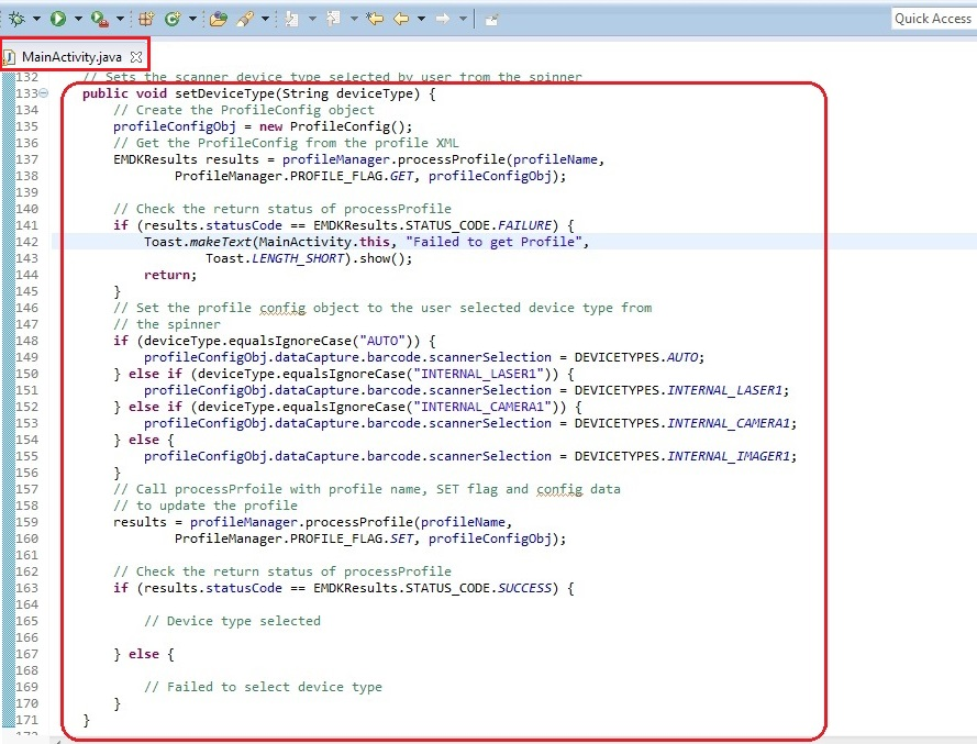 Modifying Profiles With ProfileConfig API - Zebra Technologies Techdocs