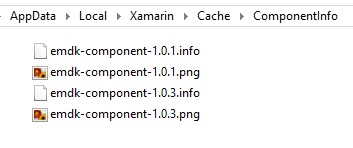 Xamarin Component Install - Zebra Technologies Techdocs