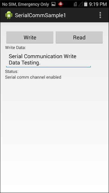 Serial Communication - Zebra Technologies TechDocs