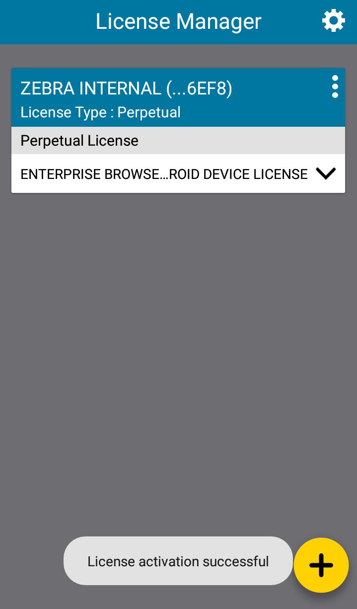 Enterprise Browser Licensing - Zebra Technologies TechDocs