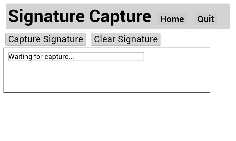 Signature API Tutorial - Zebra Technologies TechDocs